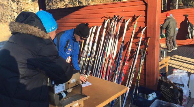 Grattis till vinnaren av nya skidor från stadium